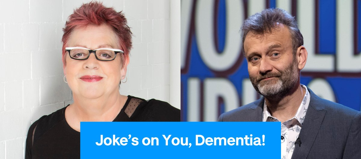 Join comedic legend Jo Brand at Joke's on You, Dementia! on Thursday 11 March at 7pm. Hosted by Hugh Dennis, the comedy event will be streamed over YouTube and tickets are free, with donations welcome. Grab your tickets here: