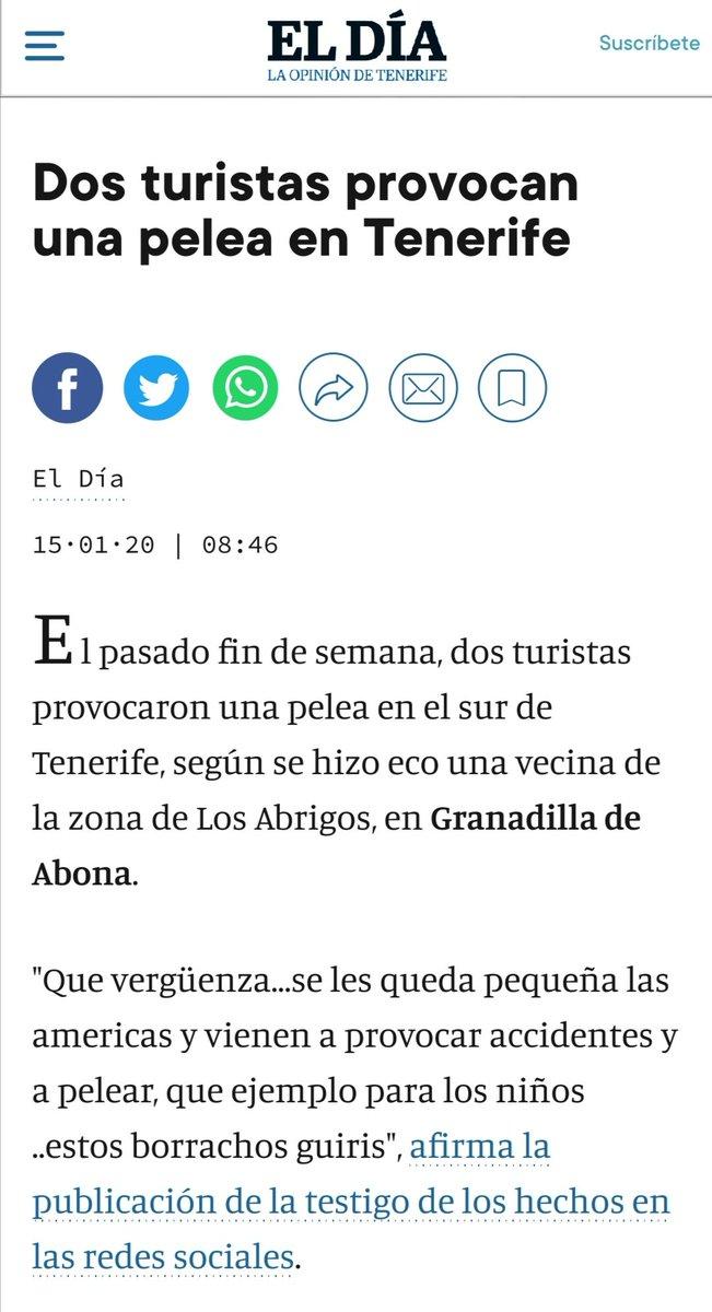 Replying to @Edu_Ela: Antes de los inmigrantes en Canarias no había peleas...