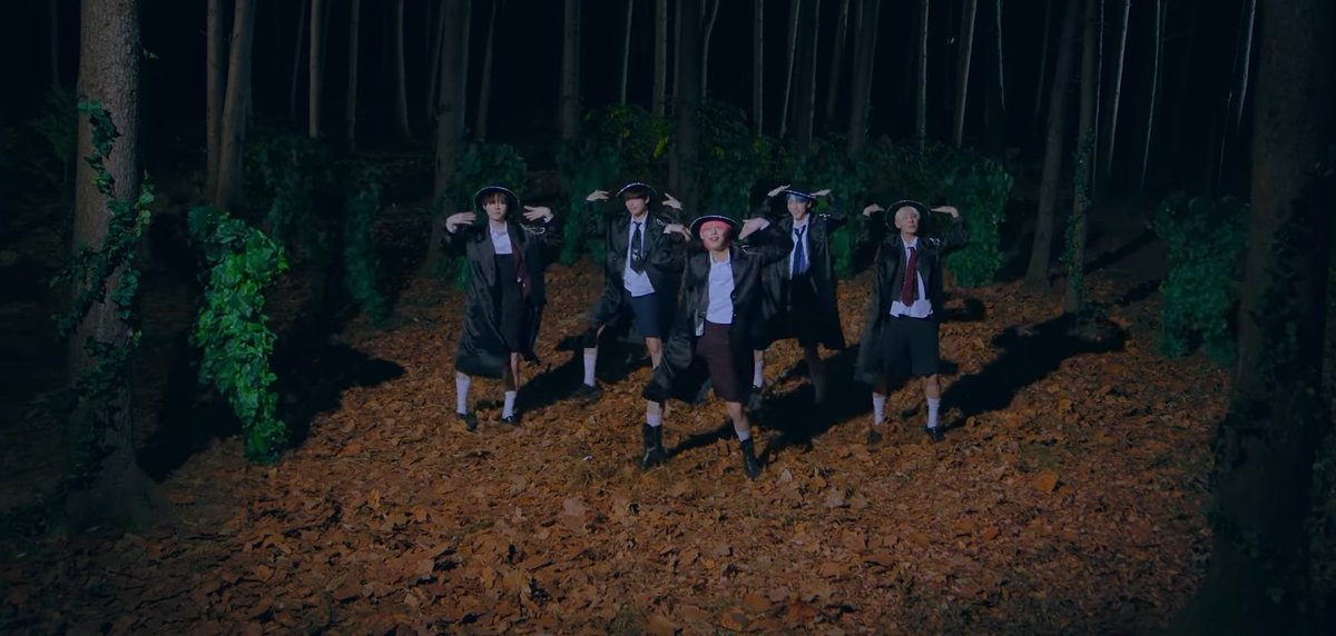 the bushes are moa who bloomed when txt came in their life and healed everyone with their healing music 🎶   #StillDreamingWithTXT #StillDreamingOutNow  @TXT_members @TXT_bighit