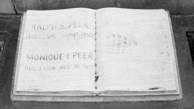 Remembering Ralph Peer - who passed away on this day in 1960 - Mr. Peer is laid to rest at Forest Lawn Memorial in #California! #blues #music #producer