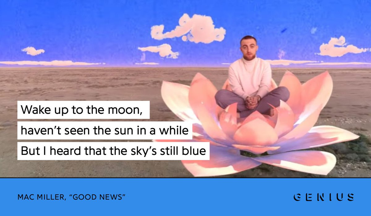 Replying to @Genius: Mac Miller would've turned 29 today 💙 RIP Mac 🕊