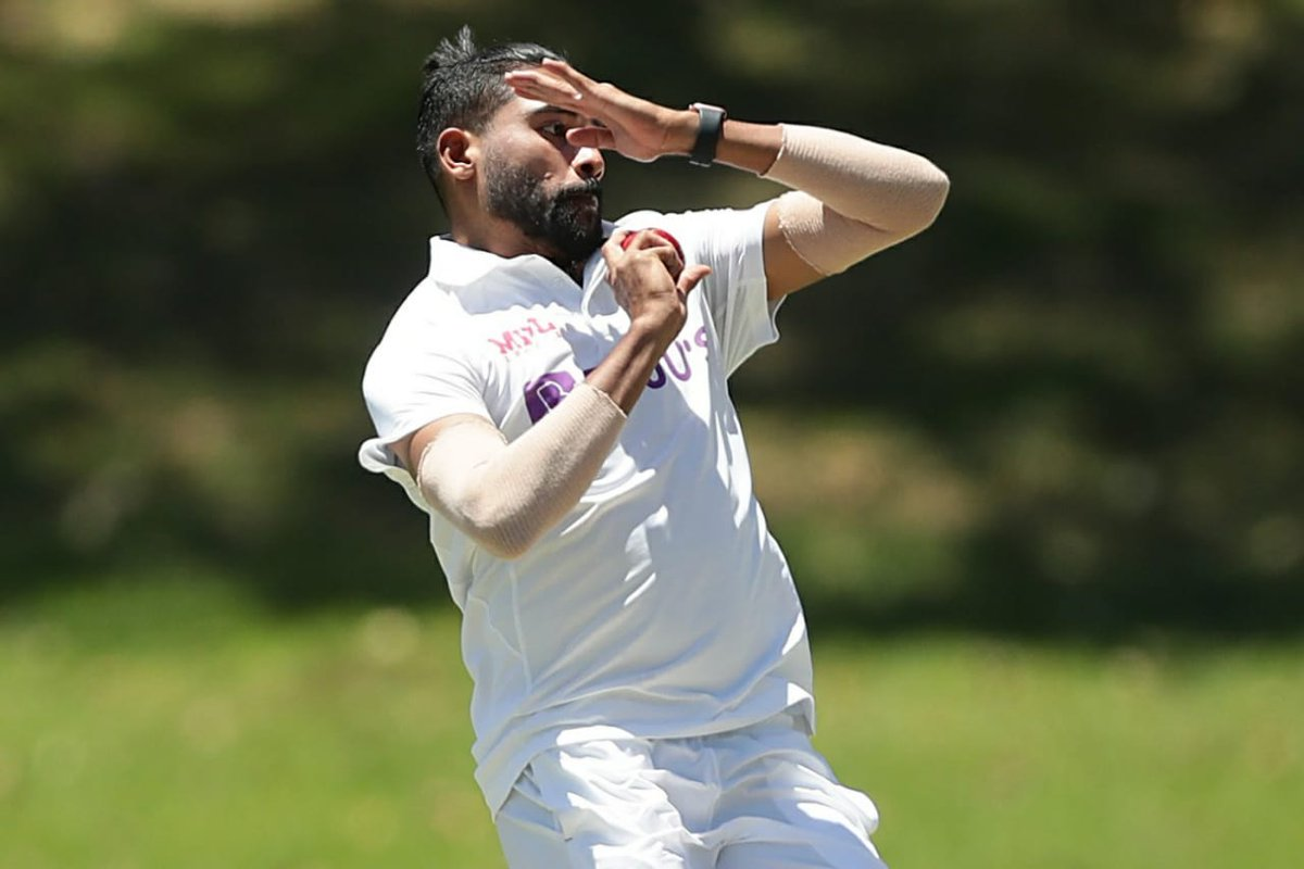 When the going gets tough, the tough gets going. Mohd Siraj, keep inspiring - and true test always is reacting  amidst adversity. Lead on…   #TeamIndia #AUSvIND #Gabba