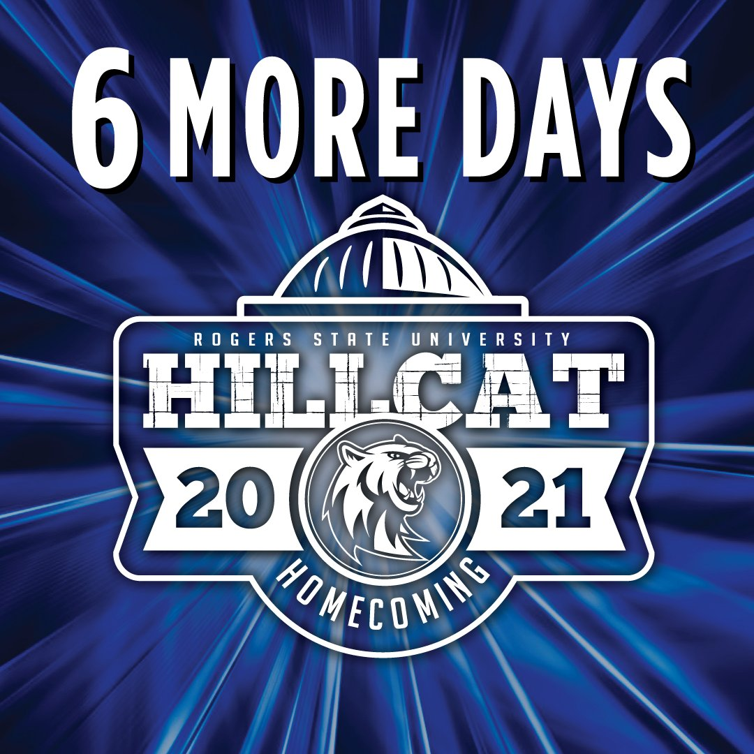 Just six more days and counting! Stay up to date with all the community and student events at .   #RSUHoco #HillcatNation #Homecoming #Basketball #Givingweek #Brightertomorrow #sixdays #QRcode #clapclapclaw