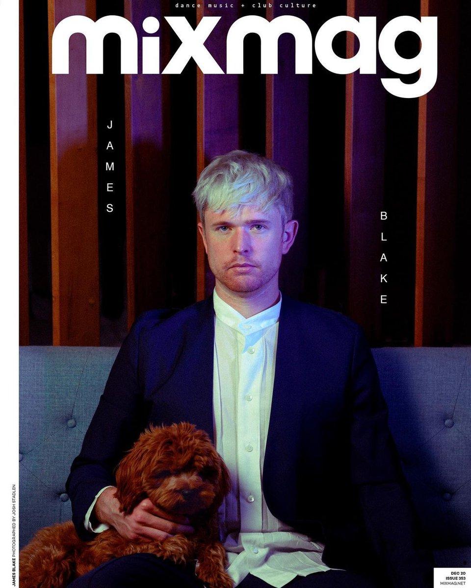 .@JamesBlake takes the cover of @Mixmag 🔥  https://t.co/7Ia3Hmfbgb  #JamesBlake https://t.co/A1DeyXJSKc