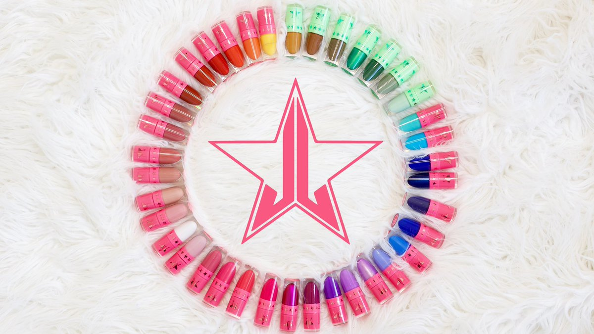 Replying to @MJunkie88: The Full Colour Spectrum 🌈  #JeffreeStarCosmetics