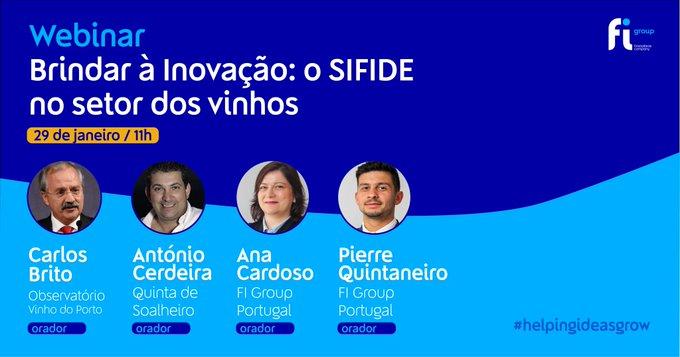 Na próxima sexta-feira, 29 de janeiro, às 11h, vamos estar à conversa com Carlos Brito, Luís....