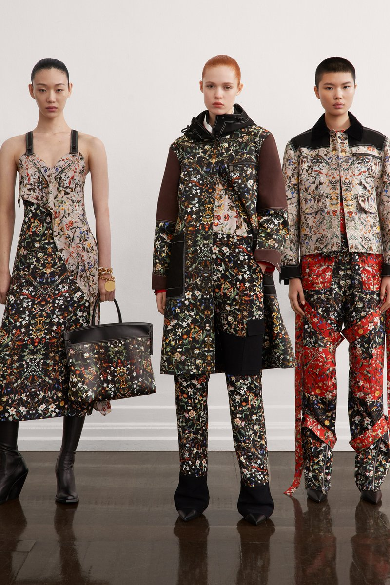 """""""Riccardo Tisci had lost himself in the outdoors, too."""" See every look from @Burberry's pre-fall 2021 collection and read our full review:"""