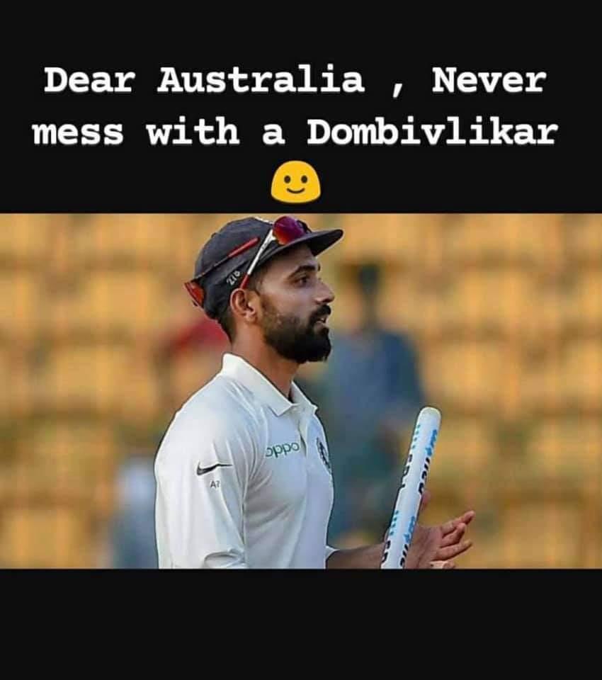 Never mess with a Dombivalikar