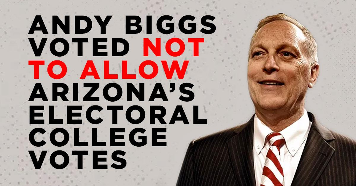 @RepAndyBiggsAZ Andy Biggs betrayed Arizona voters.  #Arizona https://t.co/h5S1t1r4Lx
