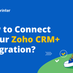 Image for the Tweet beginning: Learn how to integrate Zoho