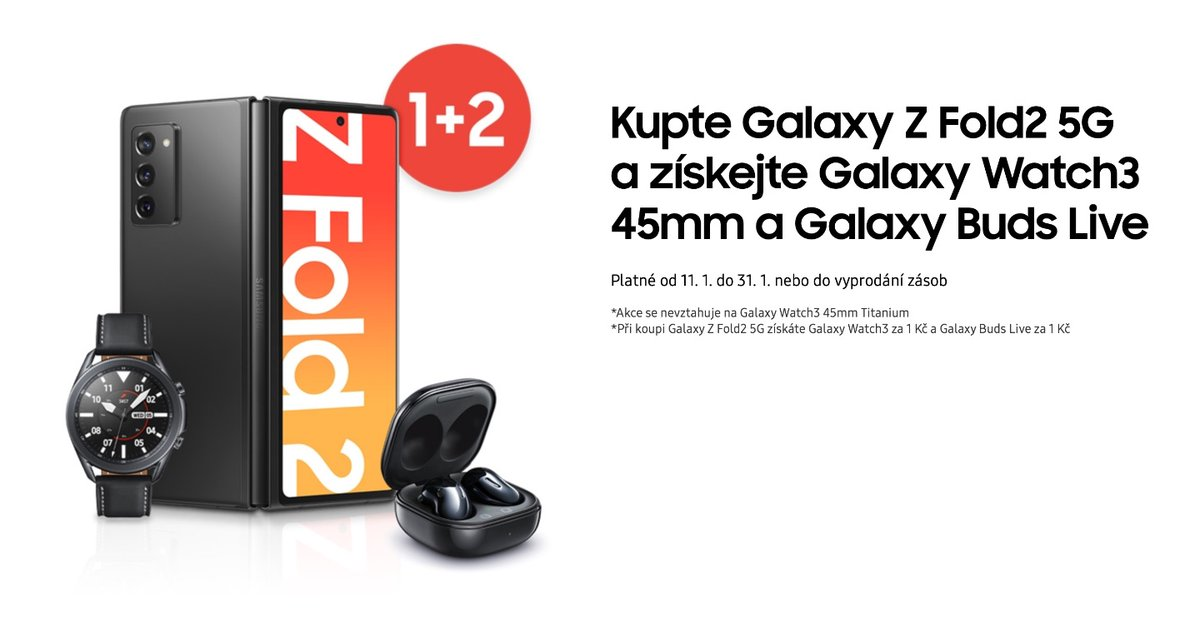 Chcete pořádnou skládačku? K Foldu 2 dostanete sluchátka i hodinky    #Samsung #GalaxyZFold2 @SamsungCZSK