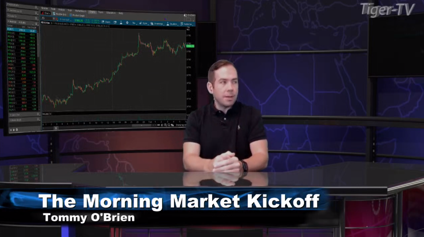 Tommy O'Brien hosts the Morning Market Kick off for Tuesday on @TFNN and discussed $ES $CL $ZN $BAC $LITE $LOGI $PPG $STLA $AXP and more! #StockMarketNews #Financialeducation #TradingView #TuesdayTrades #RocketEquities #Learntotrade #TFNN #StocksToBuy