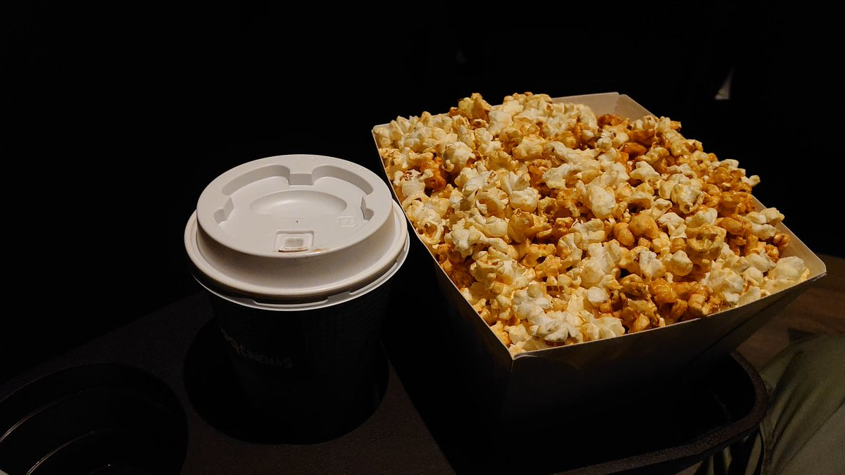 #NationalPopcornDay 🍿 I was only one audience for the movie #IWasASecretBitch December 2019.