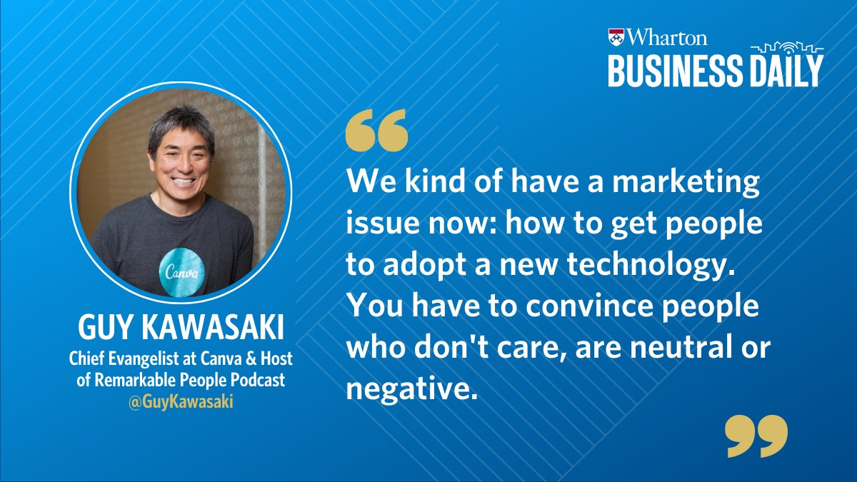 How do we overcome #vaccinehesitancy and encourage higher #CovidVaccine numbers?   @GuyKawasaki talks about the psychology of vaccinations with #WhartonBizDaily.   Listen on @ApplePodcasts: