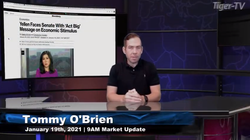 Tommy O'Brien hosts the 9AM Market News Update for Tuesday on @TFNN and discussed $BTC $GC $NQ $RTY $ES $SI $ZN $GS and more! #Learntotrade #TFNN #StockMarketNews #Financialeducation #TradingView #StocksToBuy #RocketEquities #TuesdayTrades