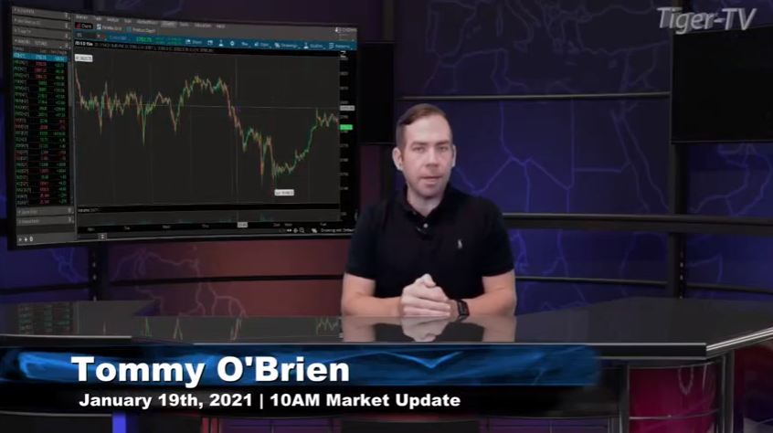 Tommy O'Brien hosts the 10AM Market News Update for Tuesday on @TFNN and discussed  $ES $MNQ $YM $RTY $BTC $SI $ZN and more! #Learntotrade #TFNN #StockMarketNews #financialeducation #TradingView #RocketEquities #TuesdayTrades #StocksToBuy