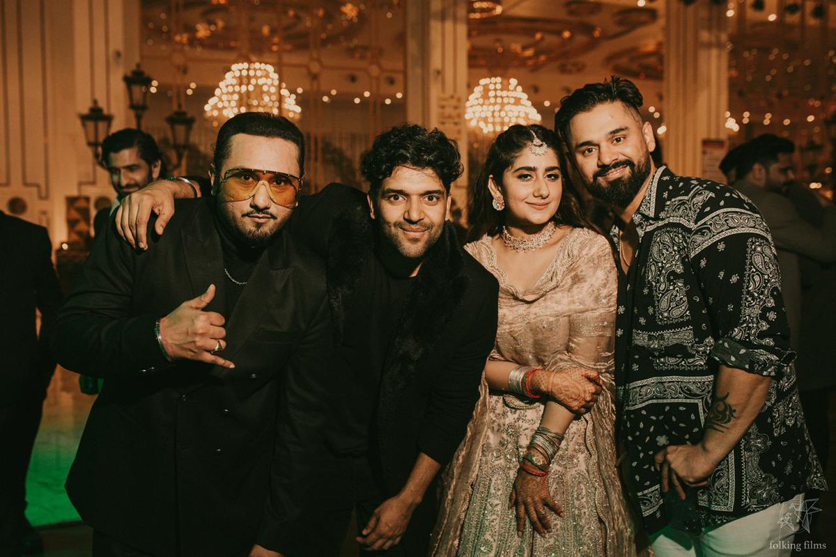 Congrats to @asliyoyo paji and family on the engagement of didi Sneha with Nikhil bhai. Waheguru bless the jodi now and forever 💥❤️ Looking forward to much more fun on the wedding 💥