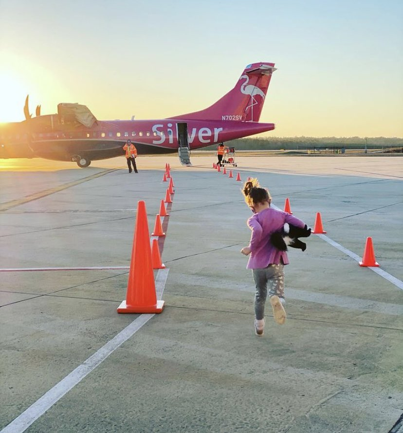 LIVE LIKE LENA and run, don't walk, to book your flight on our newest airline, @silver_airways ✈️ #FlyLocal #FlyCAE 📸: Lauren Larmon