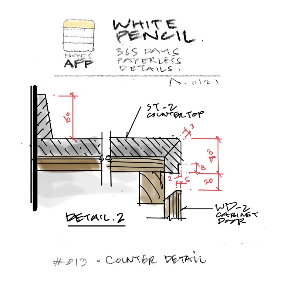 Day 19  white pencil - a 365 days quick detail sketching using the ipad/notesapp #interiordesign #sketch #gopaperless @appleforarch #drawing #art #illustration #like #make #build #Concept #design https://t.co/AGuRBNxm6h