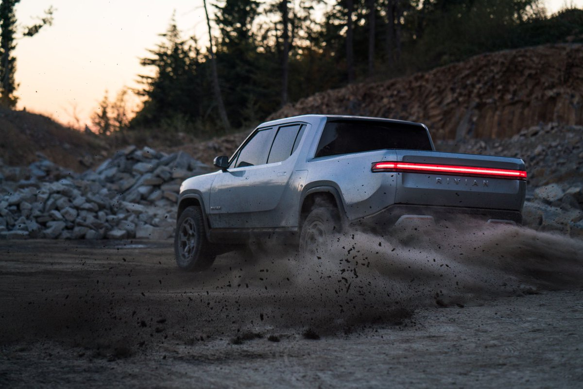 Rivian announces another major funding haul https://t.co/Aumy8NxUTN https://t.co/j5qfR9PULd