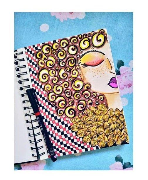 Skechbook art❤  #Artist #ArtistOnTwitter #artshare #art #artwork #sketch #sketchbook #drawings #myart #illustration #doodle #doodleart #drawing #artoftheday   https://t.co/6Ctsd5x7wv checkout for more😊 https://t.co/XfkgqbhX7t