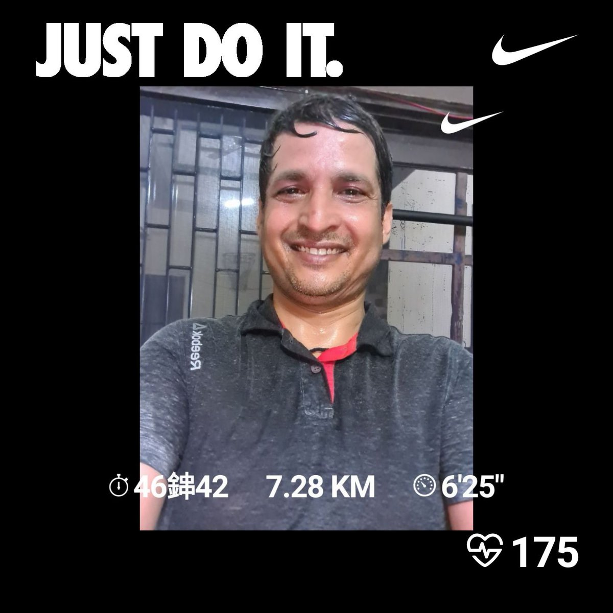 Tuesday Evening Run..  #NewIndiaFitIndia #FitIndiaMovement #EveryRunHasAPurpose