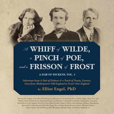 Celebrate #EdgarAllanPoe's #birthday (born #OnThisDay in 1809) with @elliotengel's A WHIFF OF WILDE, A PINCH OF POE, AND A FRISSON OF FROST. #audiobooks #classics #OscarWilde #RobertFrost #anthology