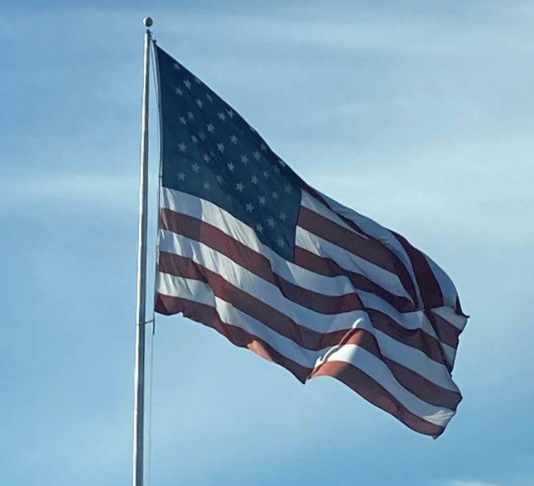 Blue skies over East TN. #Inauguration2021 #InaugurationDay