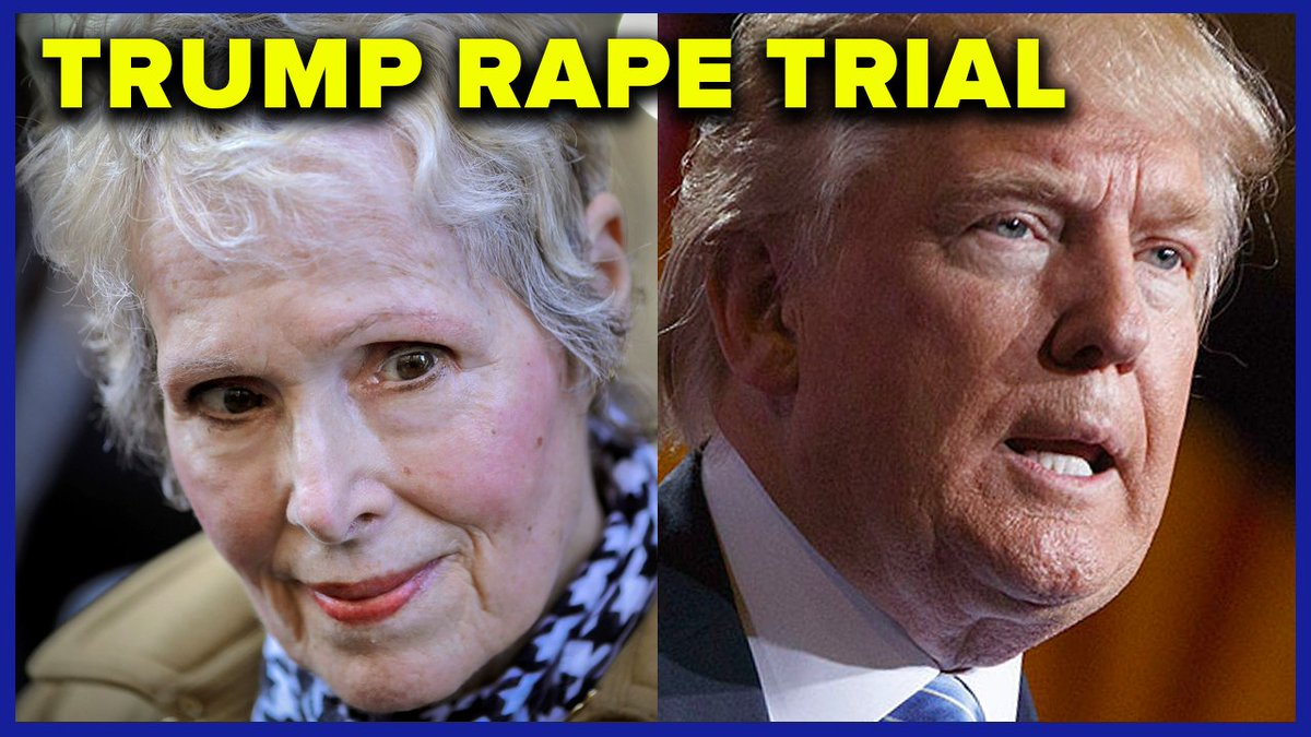 Mary Trump says Donald Trump will be exposed as a serial rapist after he faces @ejeancarroll in court #GoodbyeDonnie