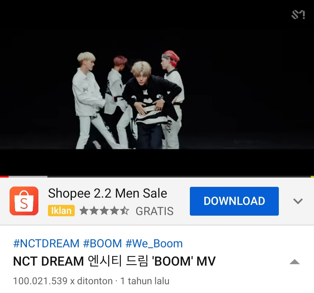 #WeGotThat_BOOM100M YASHHHHH!!! @NCTsmtown @NCTsmtown_DREAM @SMTOWNGLOBAL