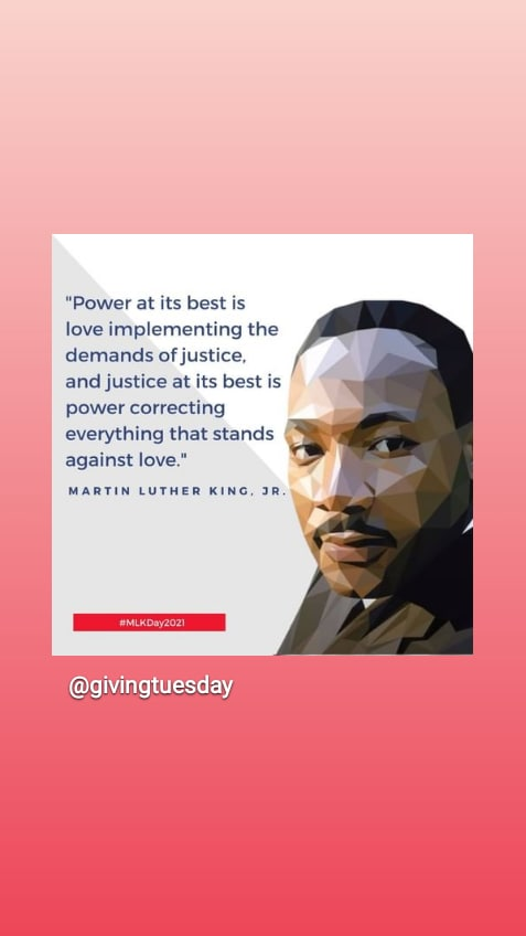 "@GivingTuesday 🌎 #givingtuesday @amnesty on #MLKday i was VeryAngry! #CHANGES?? Dr. King🇺🇸 ""turned the OtherCheek"" seekingJUSTICE! through❤️ #Love 2HEAL #BrokenGlass💔 to #BeNonViolent #12years difficult?! @HEBobiwine  🇺🇬 @navalny  🇷🇺 Wonder Women!✨ Prez Svetlana + @by_kalesnikava  BELARUS!🌈"