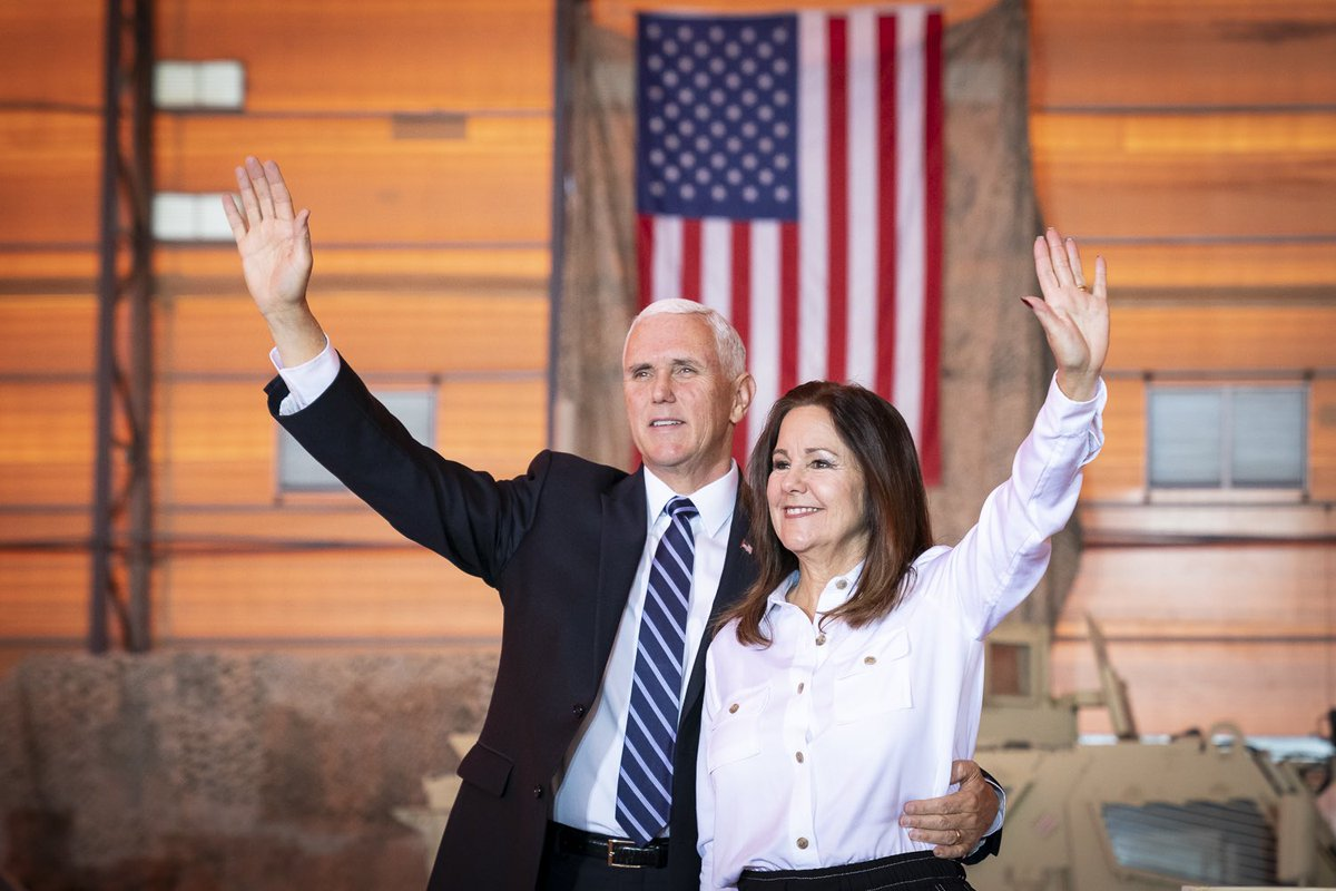 Thank you for the privilege of serving as your Vice President these past four years, it has been the greatest honor of my life. On behalf of our Wonderful Second Lady, Karen Pence, and our entire Family, Thank You and God Bless America. 🇺🇸