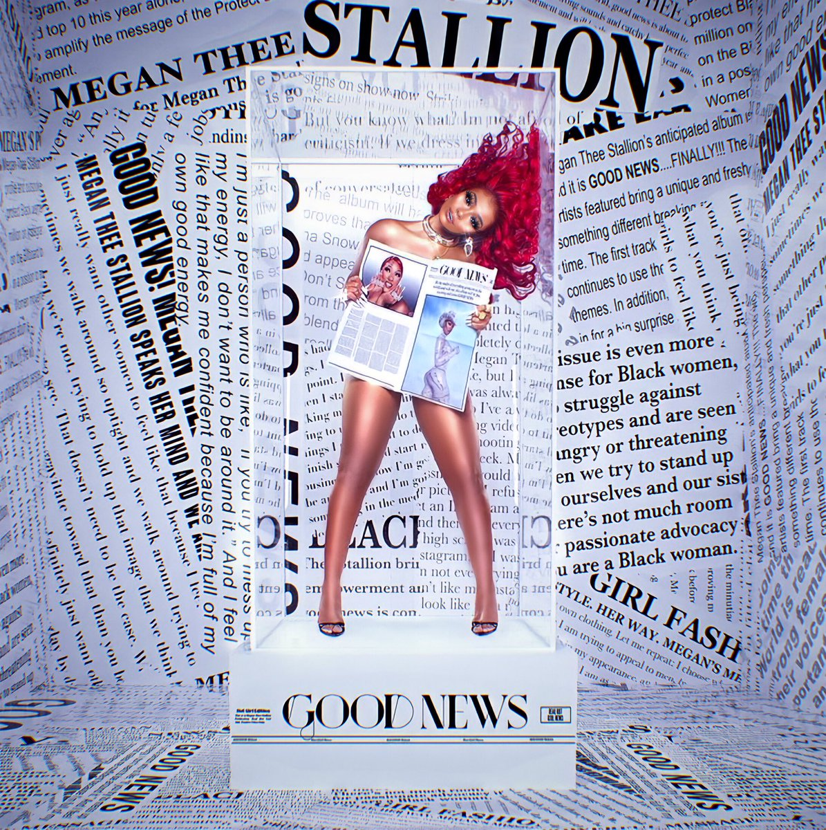 Good News #FanArt @theestallion #GoodNewsMegan 📰🔥🔥