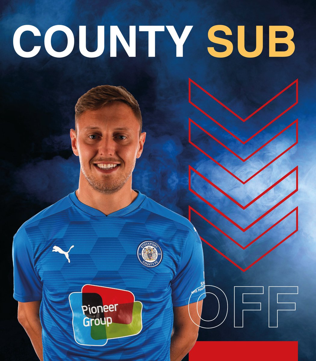 COUNTY SUB (88') | Final change of the night for County, as Connor Jennings replaces Richie Bennett. 0-2.