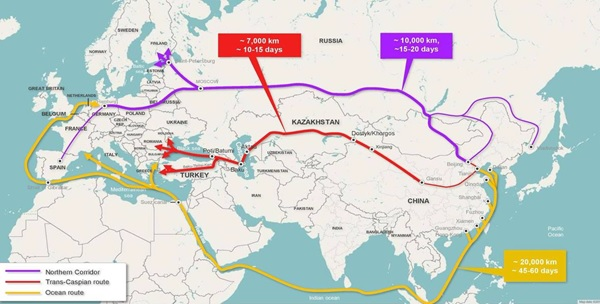 """🇹🇷🇨🇳 """"Has Turkey Outfoxed China in Azerbaijan to become a rising Eurasian power?""""   ➡️Turkey has elevated itself from a transit state to one of the principal agenda-setters of Eurasian connectivity.   My latest👉  via The Turkey Analyst"""