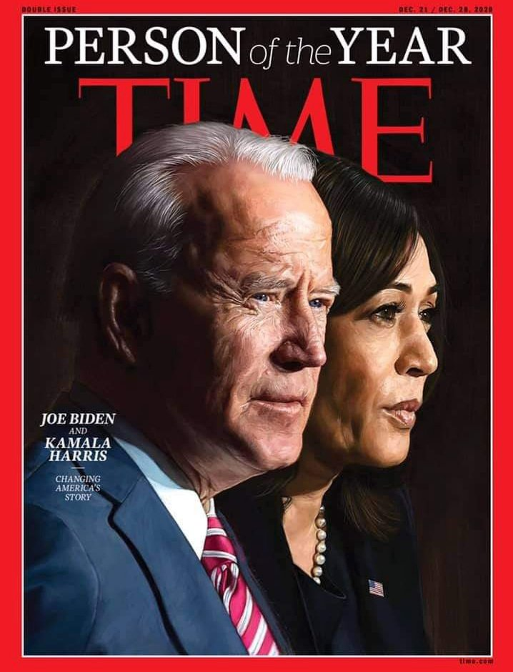 #InaugurationDay 🥂🍾 History will be made.  President Biden and Madam VP Harris 💛