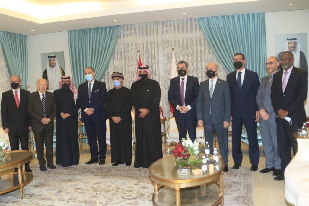 السفير القطري في الأردن يولم للسفراء الخليجيين والعرب - صور    #الاردن #جريدةالدستور #كورونا
