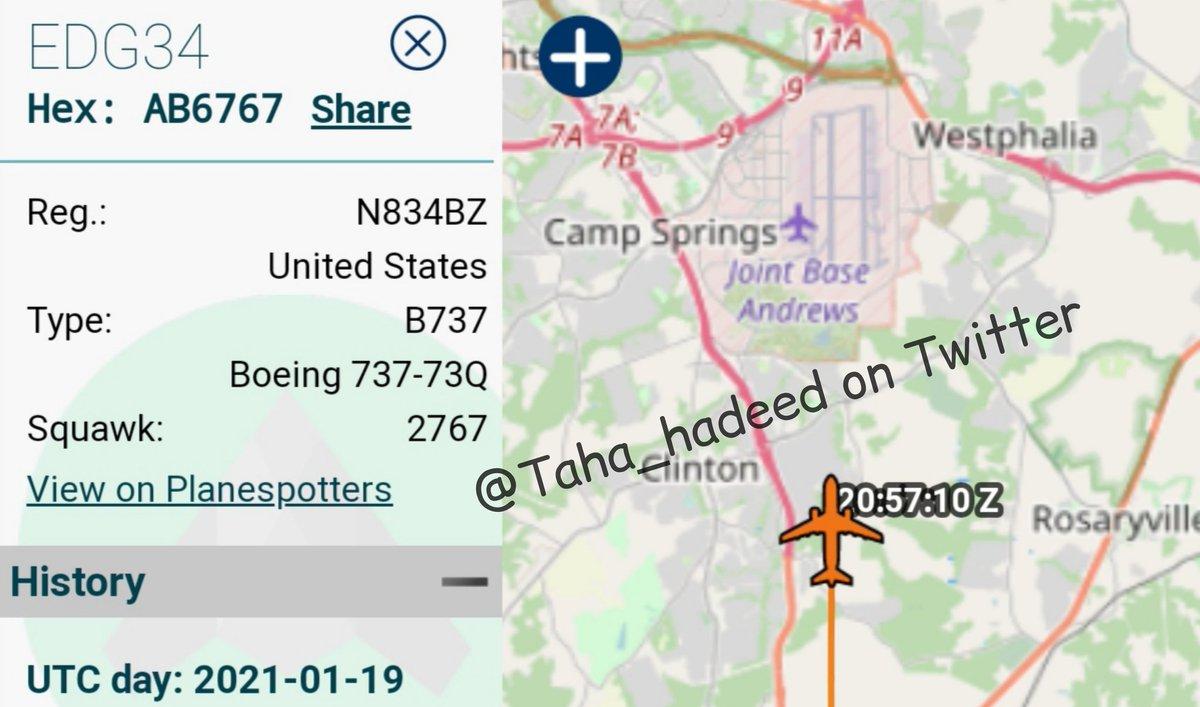 الآن وصول جو #بايدن @JoeBiden إلى #واشنطن