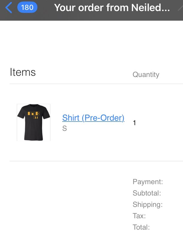 @subpop2000 The fastest I've ever completed a purchase #NeiledIt