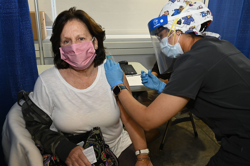 The vaccination momentum keeps going!  We've opened state-run sites at SUNY Stony Brook, SUNY Poly, the Aqueduct Racetrack in Queens, SUNY Buffalo and Plattsburgh International Airport to get shots into the arms of eligible New Yorkers.  More sites coming soon.