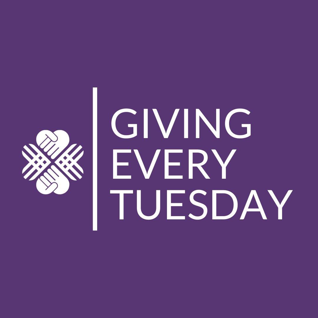 On Tuesdays, we give.     #GivingEveryTuesday #GivingTuesday