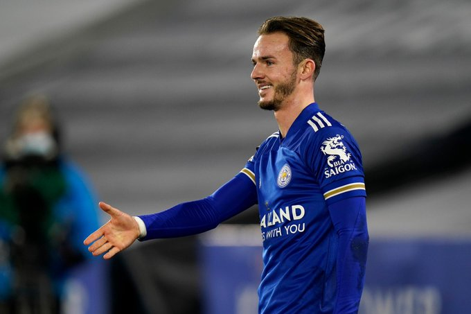 James Maddison has scored in three consecutive Premier League games for the first time in his career!  He's 1/2 to be in Gareth Southgate's squad for #Euro2021! 🔥  #LEICHE
