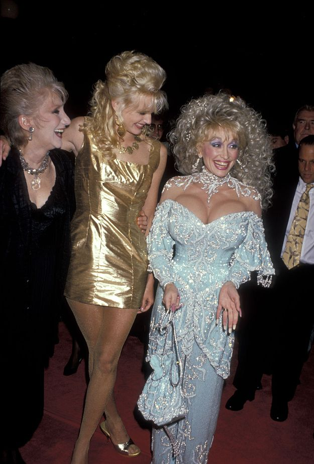 Olympia Dukakis, Daryl Hannah, and birthday girl Dolly Parton at a Steel Magnolias screening, November 9, 1989. LOVE these ladies.😍😍😍 #HappyBirthday #DollyParton #HappyBirthdayDolly #happybirthdaydollyparton #steelmagnolias #throwback