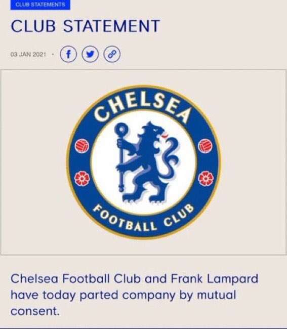 I cease to be a CHELSEA fan until I see this statement #LEICHE
