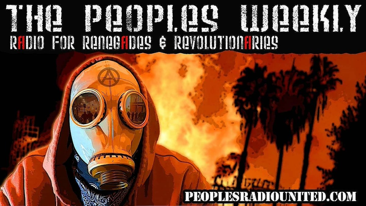 #ThePeoplesWeekly will be LIVE TODAY at 4pm PT / 7pm ET... listen live and join us in the chat. #TrumpsLastDay #ACAB #AbolishThePolice #BidenHarrisInauguration #AnotherFascist #CapitolRiot #MagaTerrorists #AlwaysAntifascist #AllPowerToThePeople
