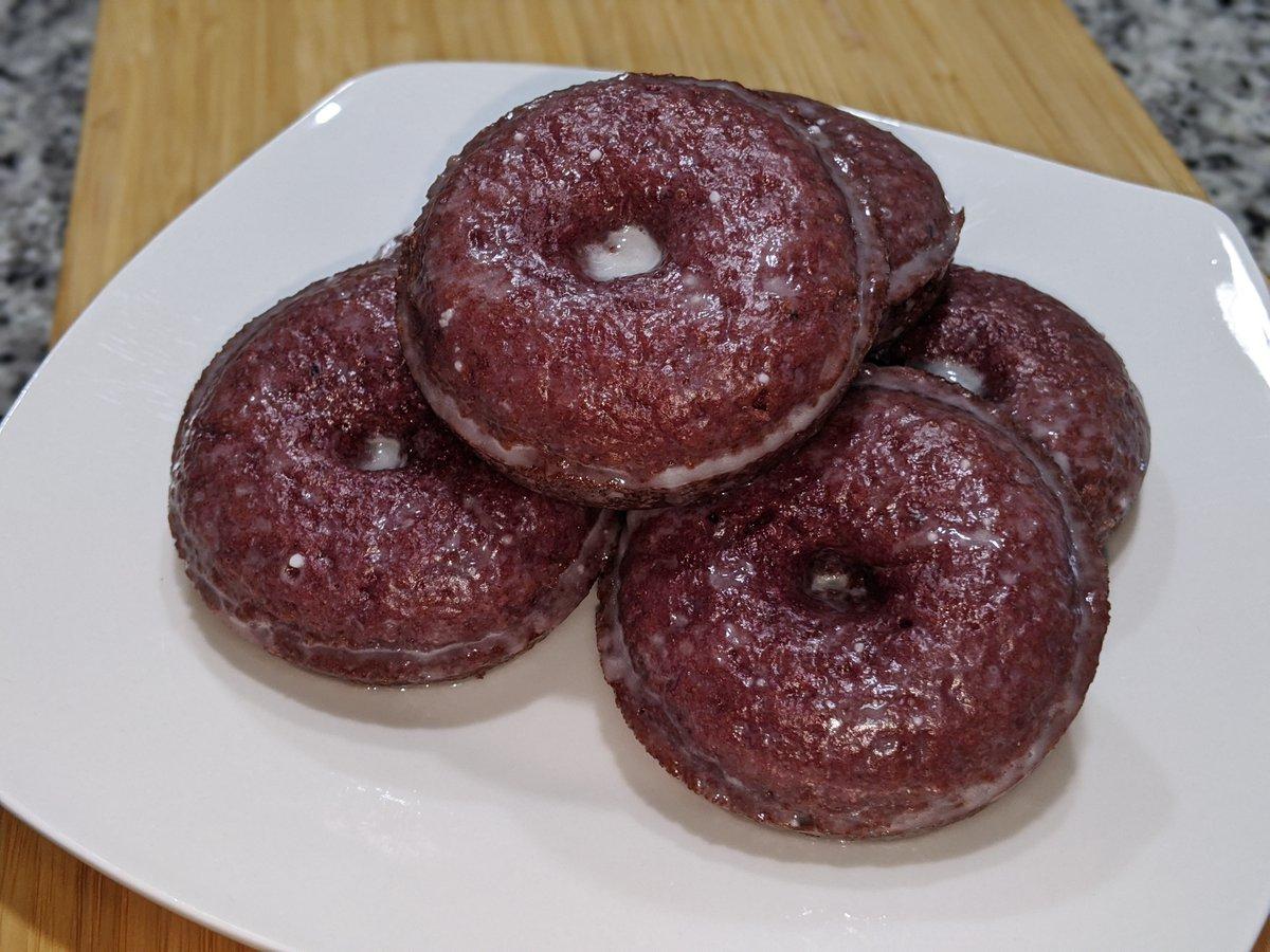 Oven-Baked Red Velvet Donut Recipe!   @BlazedRTs   #Recipe #Donuts #RedVelvet #foodie #foodporn #FoodieFam #youtubeblack #blackyoutubers #contentcreators #blackyoutube #smallyoutubersupport #smallyoutuber #Subscribetomychannel #subscribe #RecipeOfTheDay