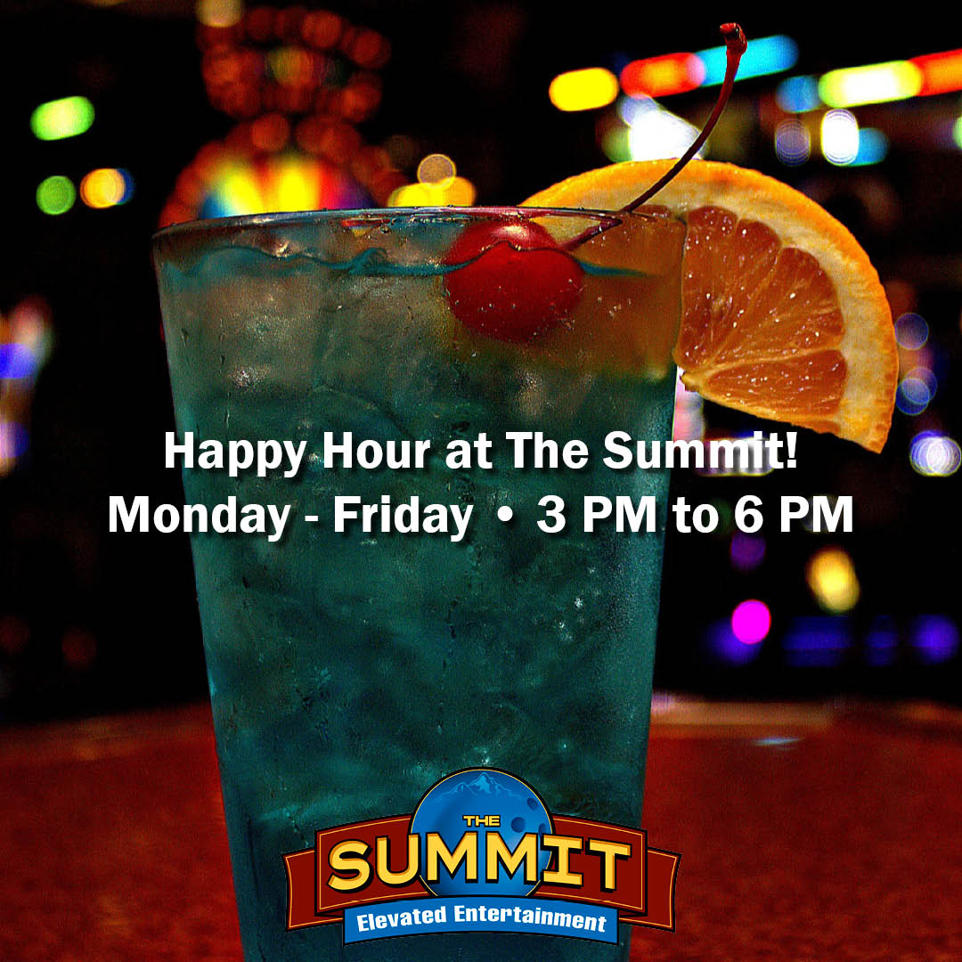 We're open at 3 PM, just in time for #HappyHour!