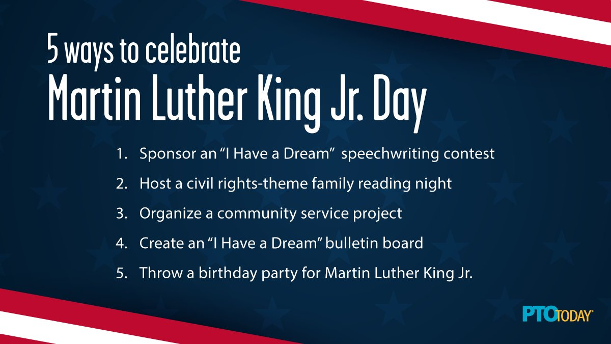 Celebrating the life of this civil rights icon all week! How is your group helping to mark MLK Jr.'s birthday? Read more 👉 https://t.co/Wo3tekqF0j https://t.co/eVHJN18bYE