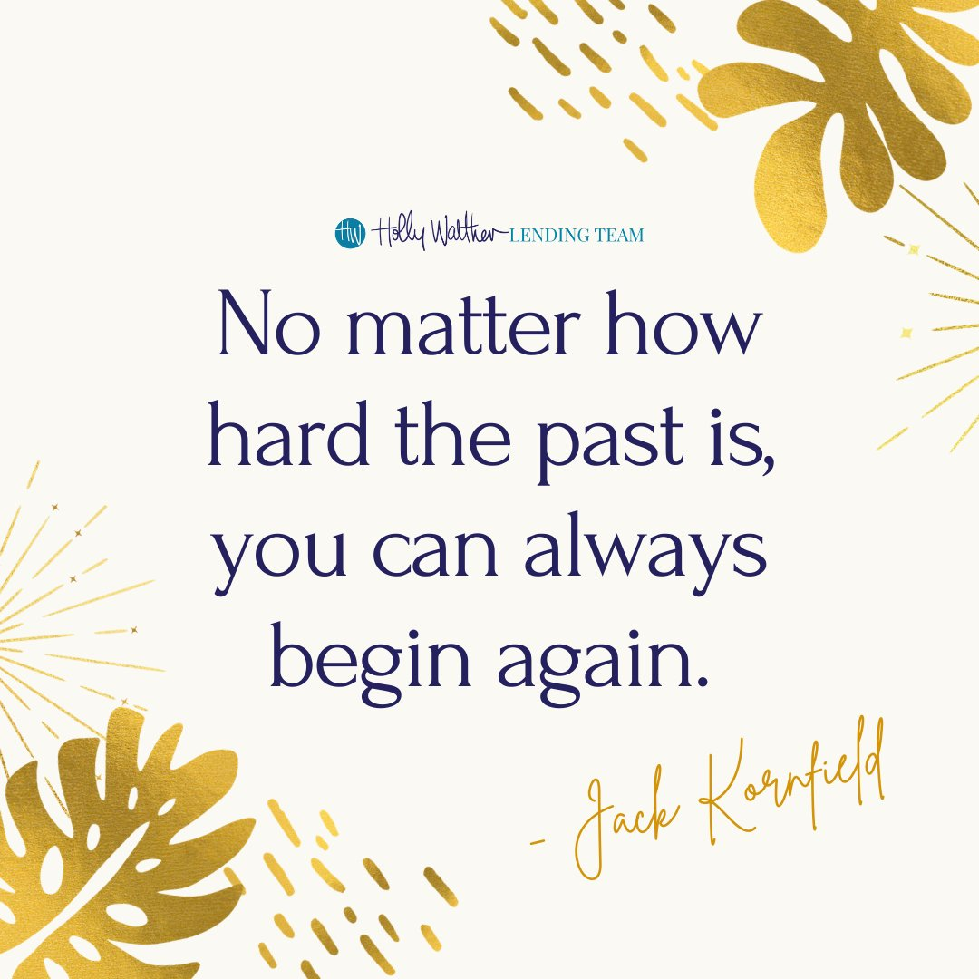 Today is that new beginning! Happy Tuesday.  #lender #realtor #quotestoliveby #quotes #life #bestoftheday #motivation #inspirationalquotes #newbeginnings #quoteoftheday #quote #quotesaboutlife #bosslady #bosslife #bossbabe #HollyWaltherLendingTeam