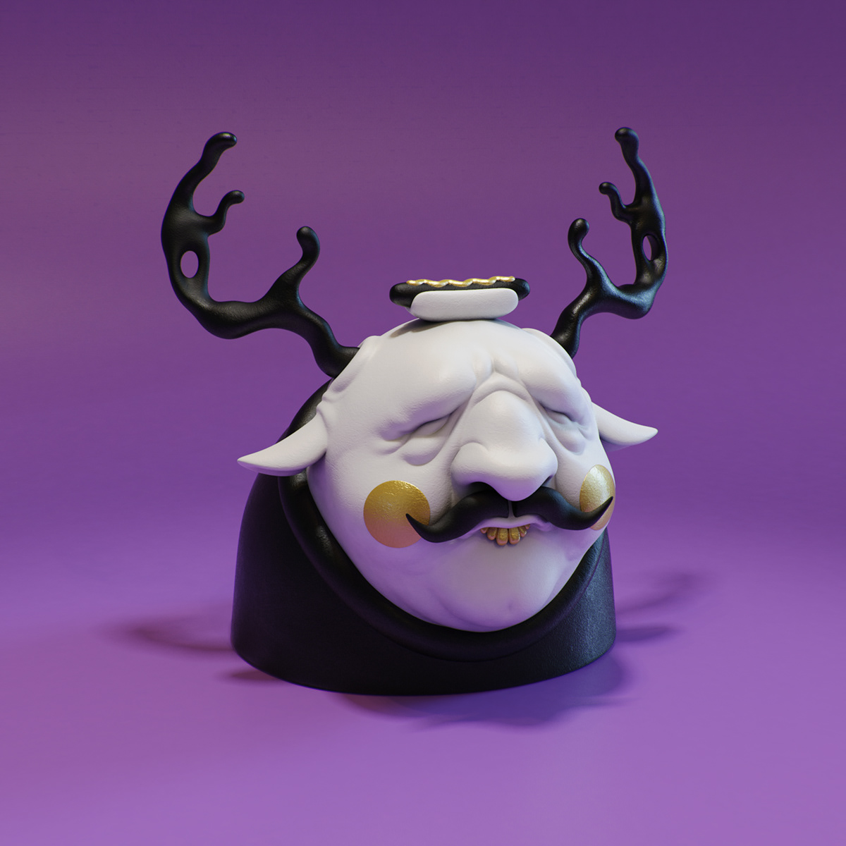 Curious sculptures by @rwr2 — see more figurines by Rodrigo >